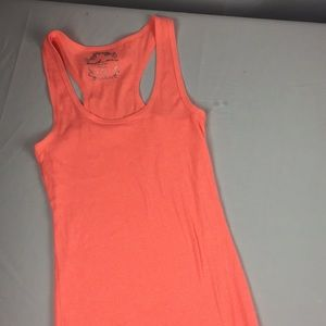 Touch me peach tank size large B8